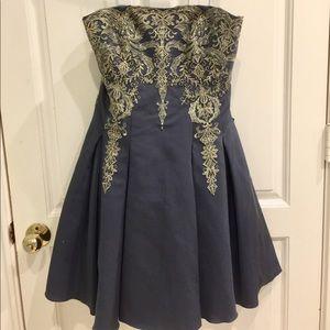 ✨ beautiful NWT Marchesa Notte strapless dress ✨